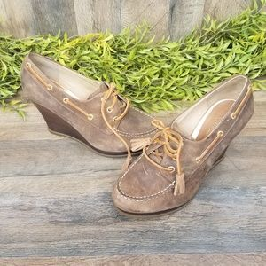 """Sperry • Top-Sider """"Seabourn"""" Wedge Pump"""